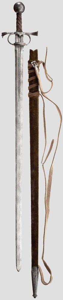 Italian arming sword c.1550
